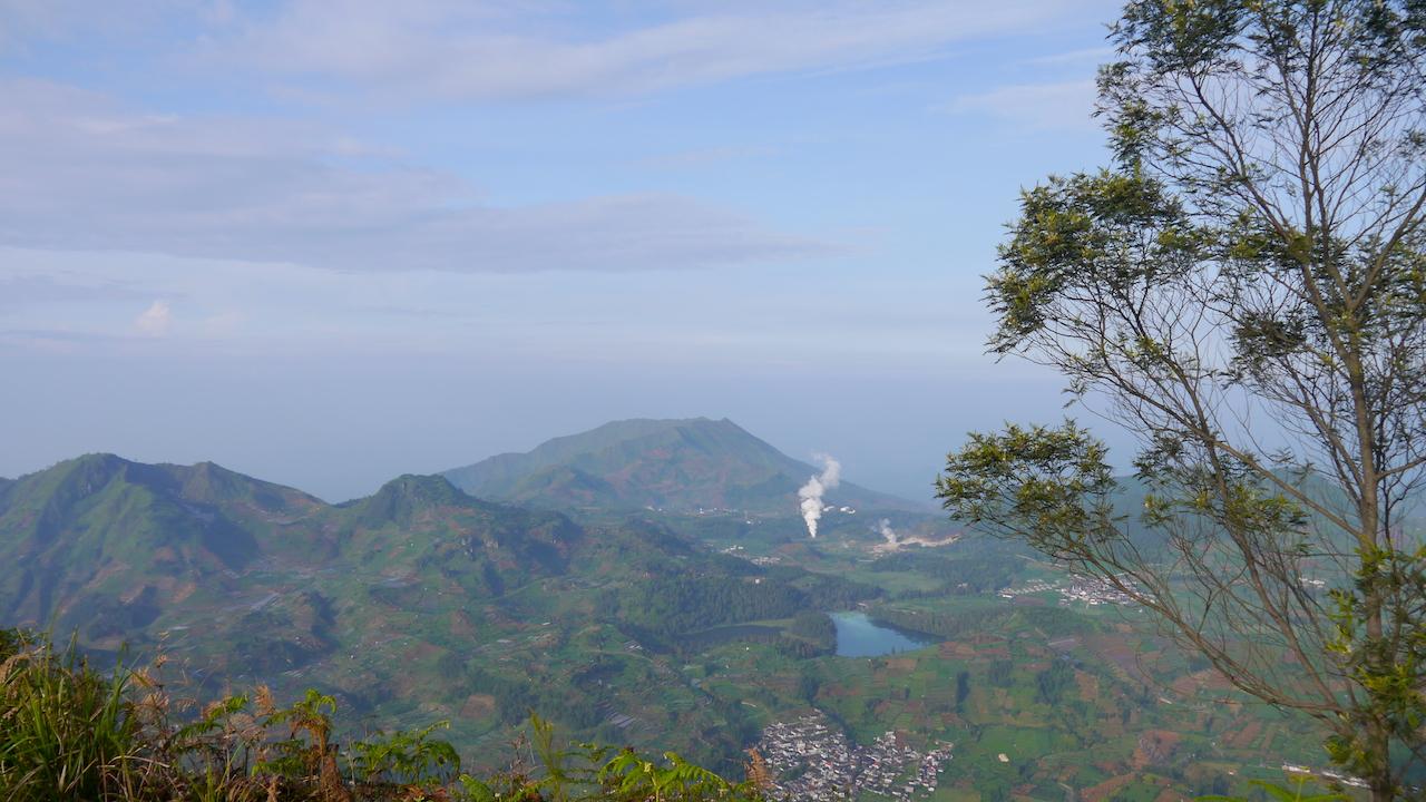 Landscape dieng