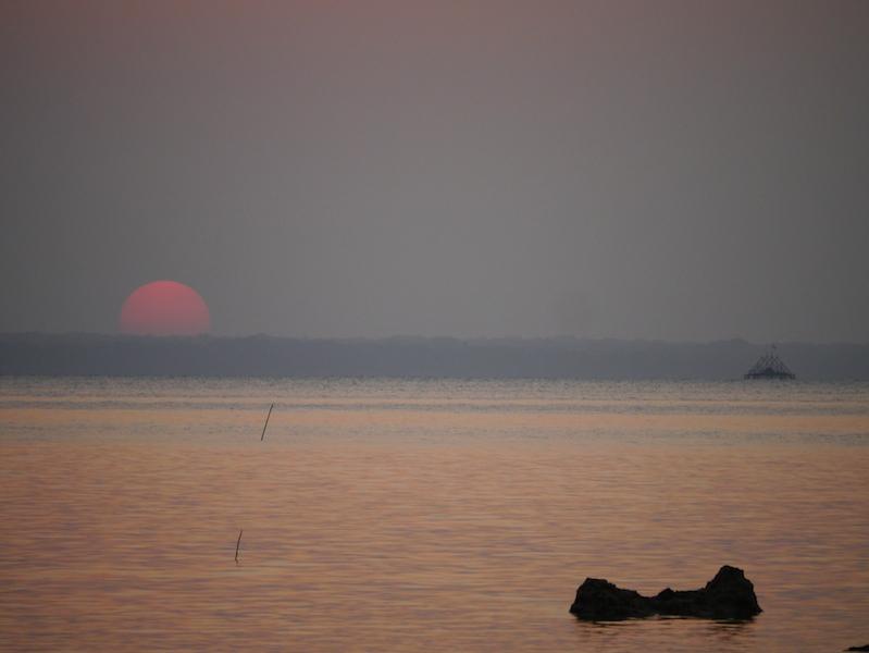 Senja di Pertengahan Tahun 2012