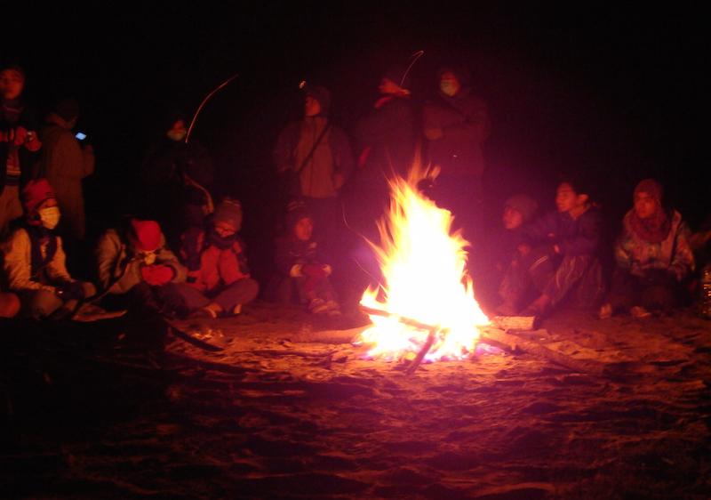 Api Unggun Pengusir Dingin
