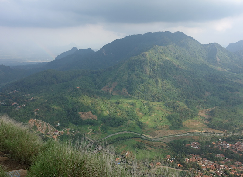 View from Mt.Batu