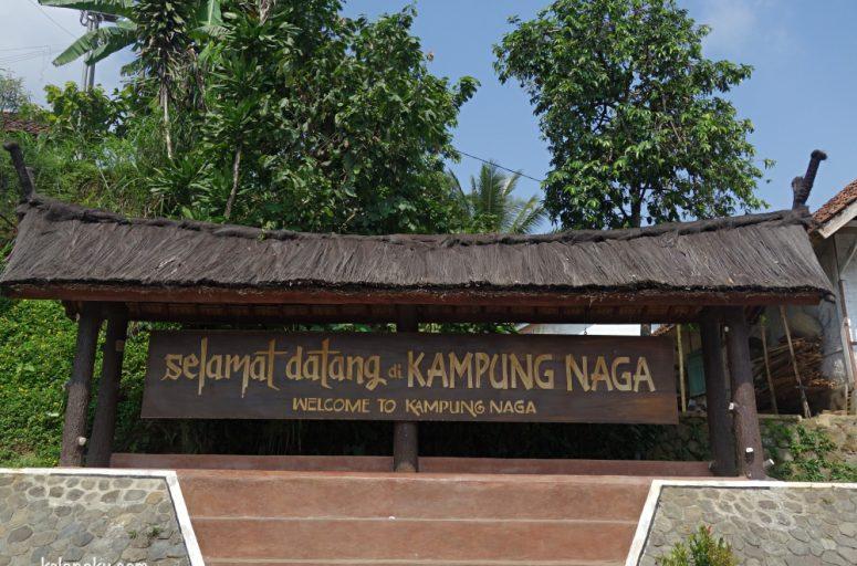Selamat datang di Kampung Naga