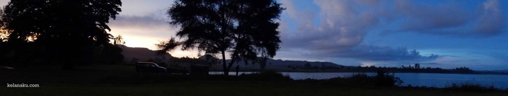 Morning at Bugel Mega Camara Beach