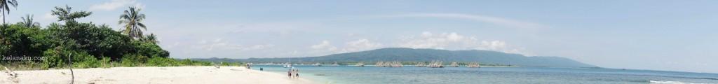 Panorama Pulau Oar Sisi Kanan