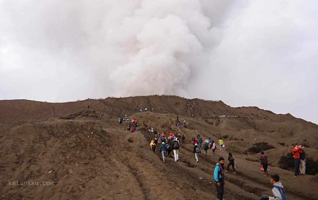 Yadnya Kasada Bromo Eruption