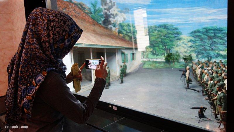 Diorama di museum Peta