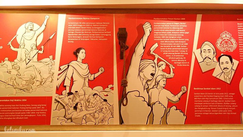 Ruang pemberontakan di Museum Multatuli