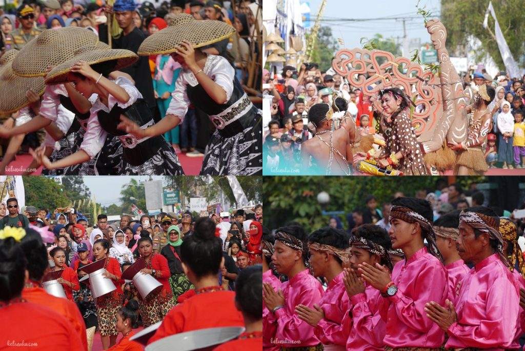 Pandeglang culture festival-Menari tarian nusantara