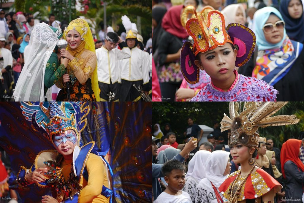 Pandeglang culture festival kostum