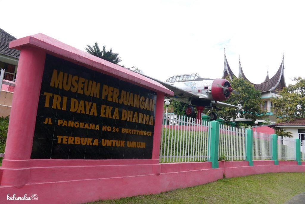 Museum Perjuangan Tri Eka Dharma, Wisata Bukittinggi