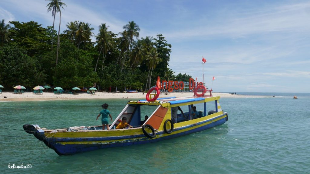Pulau Angso Duo, Kapal untuk menyeberang, kelanaku.com