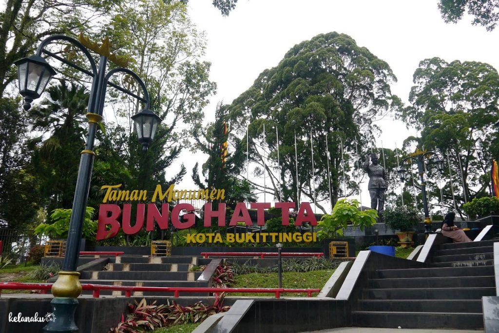 taman monumen bung hatta, wisata bukittinggi