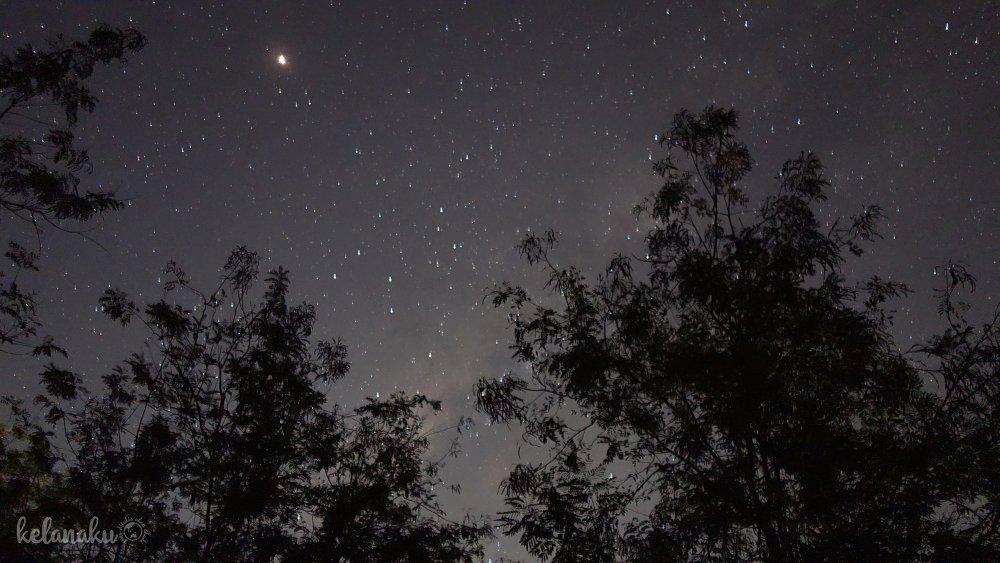 Milky way at way kambas
