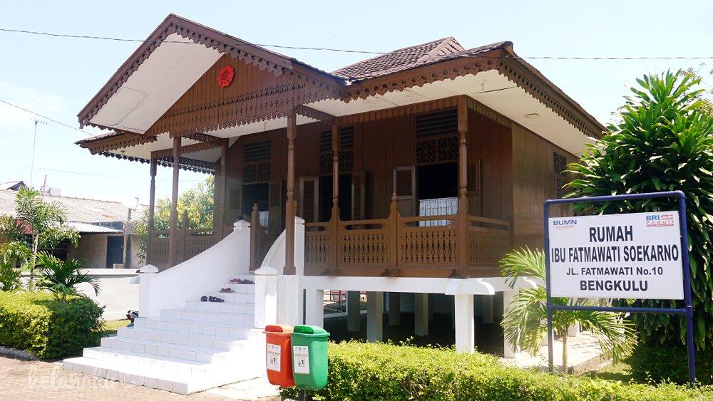 Wisata Bengkulu, Rumah Kediaman Ibu Fatmawati