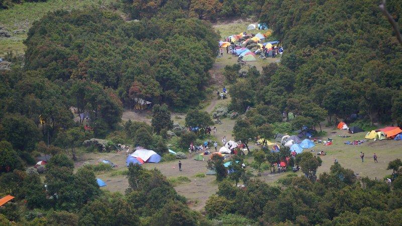 Tenda di Pondok salada