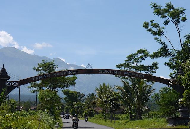 Selamat datang di Kawasan Taman Nasional Gunung Merapi
