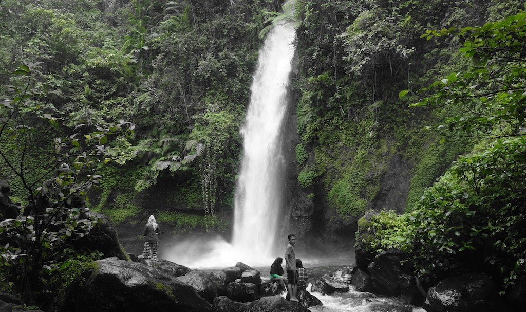 Curug Sawer, Green Olny