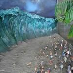 Diorama Tragedi Tsunami