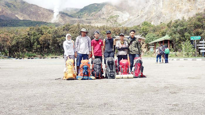 Our Team at Papandayan