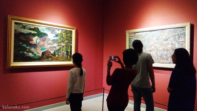 Pengunjung dan koleksi museum