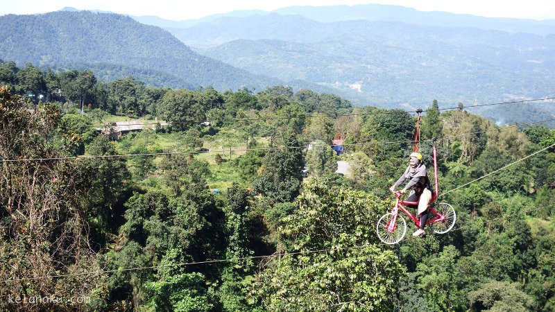 Sepede terbang Ranggon Hills