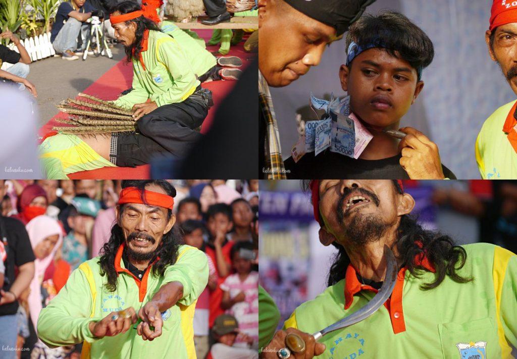 Pandeglang culture festival Kesenian Debus