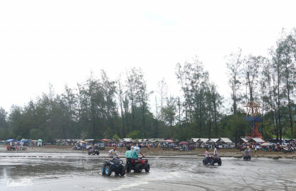 Pantai AIr Manis, Permainan Motor ATV