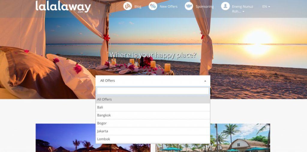 Situs booking hotel mewah, lalalaway