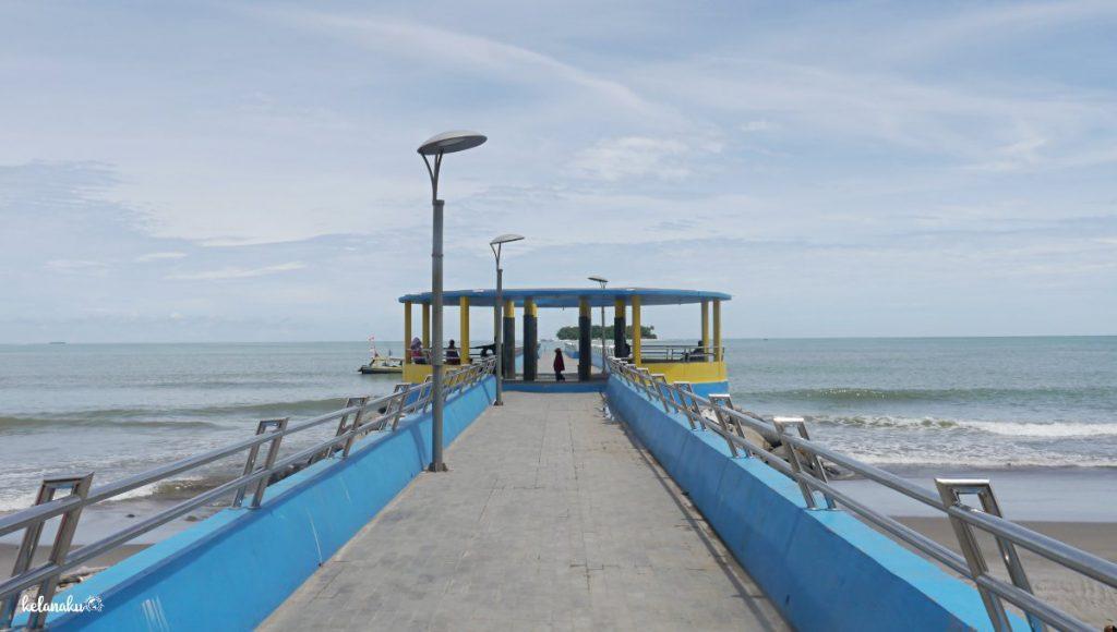 Pulau Angso Duo, Dramaga penyeberangan, kelanaku.com