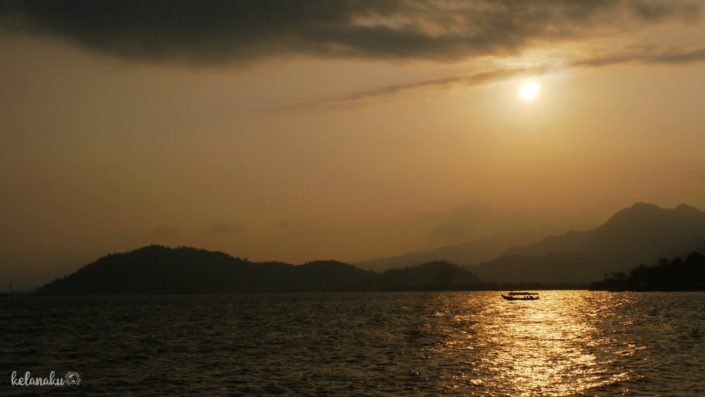 Senja di Pantai Klara 2 Lampung