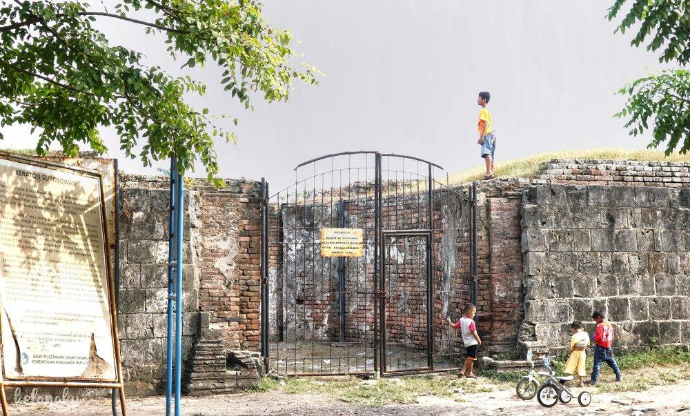 Gerbang Benteng Surosowan