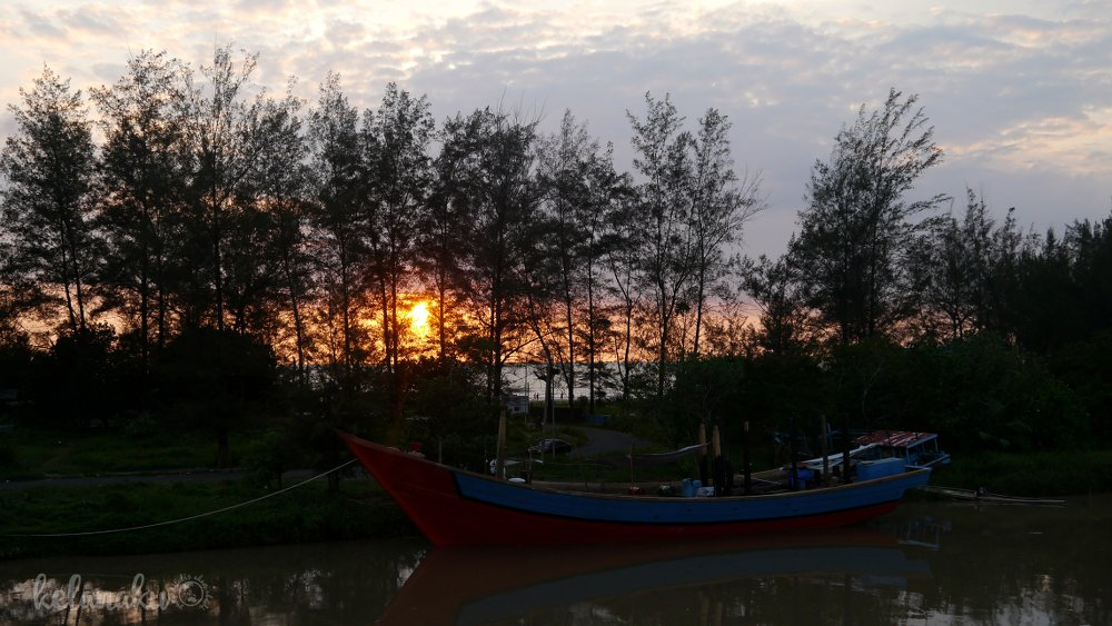 Wisata Bengkulu, sunset