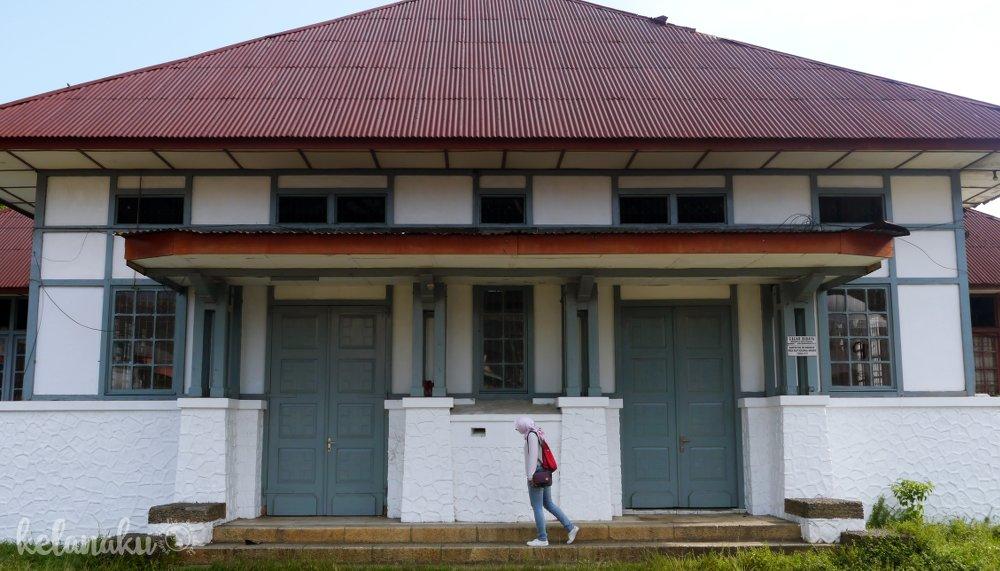 Wisata Bengkulu, Kantor Pos tempo dulu