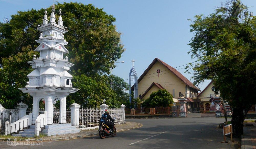 Wisata Bengkulu, Paroki Santo Yohanes