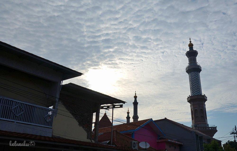 Menara Masjid At-Taqwa Cirebon