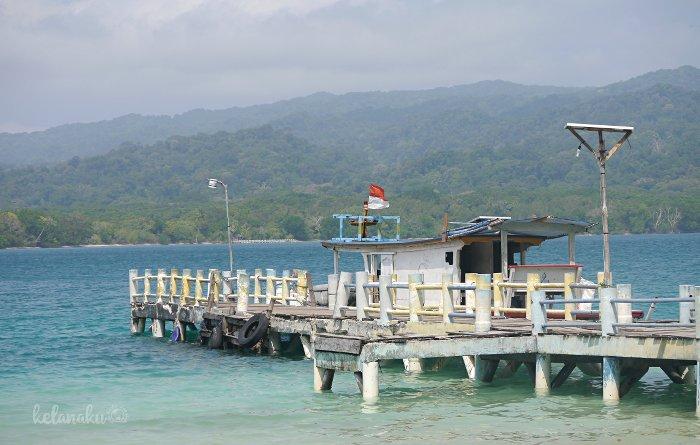 Pulau Peucang, Wisata Ujung Kulon