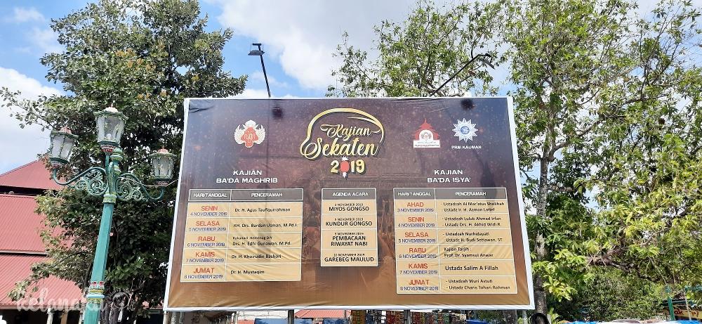 Sekaten Keraton Yogyakarta
